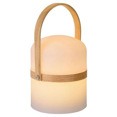 Lucide Kannettava LED-pöytälamppu Joe sisä- ja ulkokäyttö