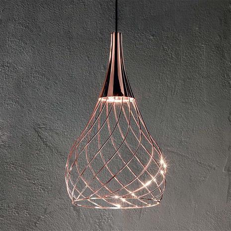Linea Light Toiminnallinen LED-riippuvalaisin Mongolfier_P1
