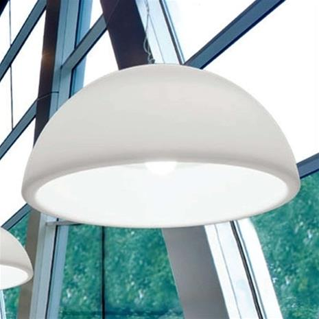 Linea Light Valkoinen Hanging Ohps -designer-riippuvalaisin