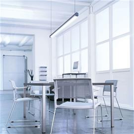 Lightnet Läm. valkoinen LED-riippuvalaisin Travis-P2, 89 cm