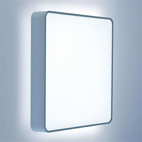 Lightnet Neliskulmainen LED-seinävalaisin Caleo X2 51,4 cm