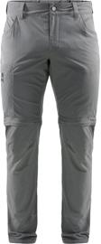 Haglöfs Lite Zip Off Pants Men, magnetite