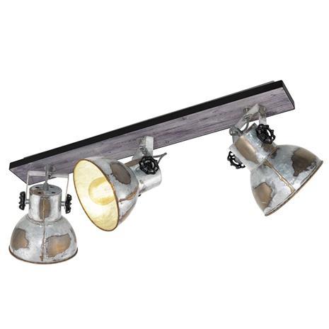 EGLO Kattovalo Barnstaple industrial-tyyli 3 lamppua
