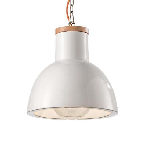 Ferro Luce Riippuvalo C1781 skandinaaviseen tyyliin valkoinen