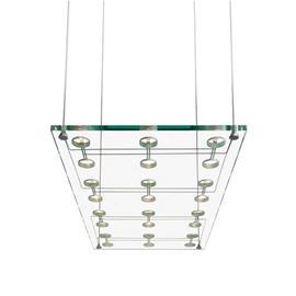 Fabbian Tyylikäs design-riippuvalaisin SOSPESA, lasinen