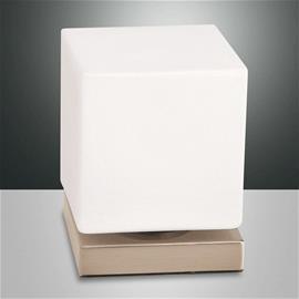 Fabas Luce Kosketushimmennin LED-pöytälamppu Brenta kulta