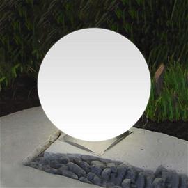 Epstein Snowball-pallovalaisin valkoinen teräsjalka 50