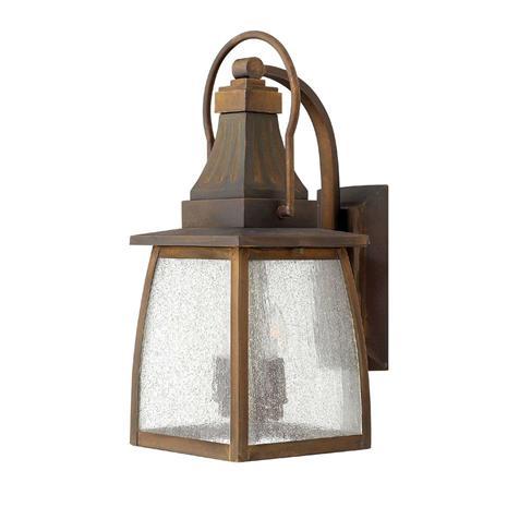 HINKLEY Vankka messinkinen 2 lampun MONTAUK-seinävalaisin