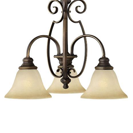 HINKLEY Kolmen lampun CELLO-riippuvalaisin