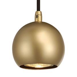 SLV Messinginvärinen LED-riippuvalaisin Light Eye Ball