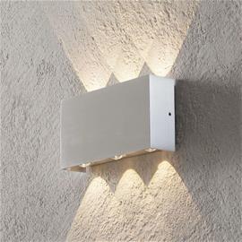 B-Leuchten Sisä- ja ulkotilojen Stream-LED-seinävalo alumiini