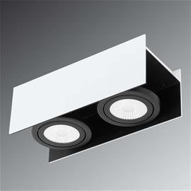 EGLO Kaksilamppuinen LED-kattokohdevalaisin Vidago