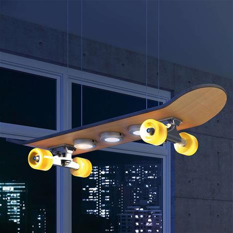 Evotec Rullalautamainen Light Cruiser -LED-riippuvalaisin