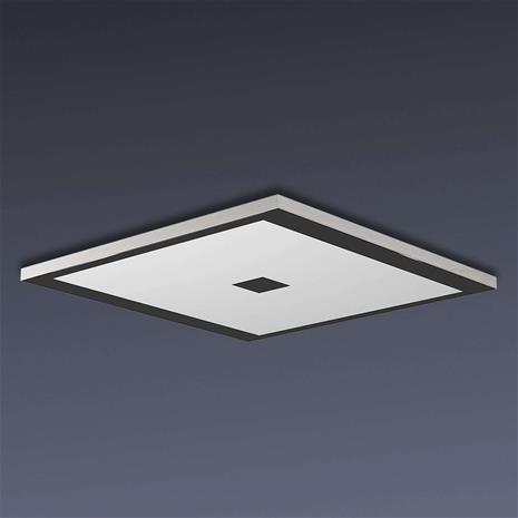 Evotec Neliömäinen Zen-LED-kattovalaisin, Color Control