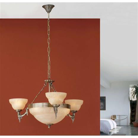 EGLO Tyylikäs Marilla-riippuvalaisin, 6 lamppua