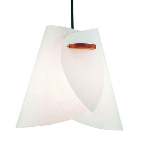 Domus Valkoinen design-riippuvalaisin IRIS