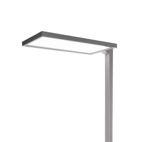 Deko-Light Työpaikan LED-lattiavalaisin Office One 7 400 lm