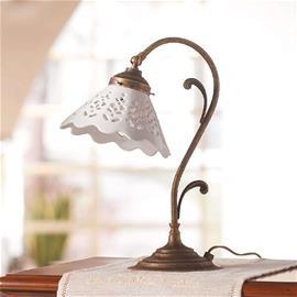 Ceramiche Pöytälamppu Semino ja keramiikkavarjostin