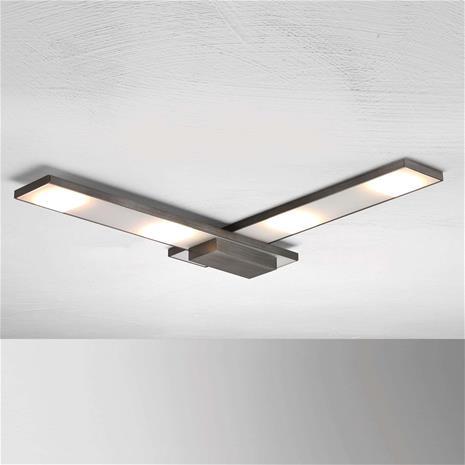 BOPP Hienostunut LED-kattovalaisin Slight, antrasiitti