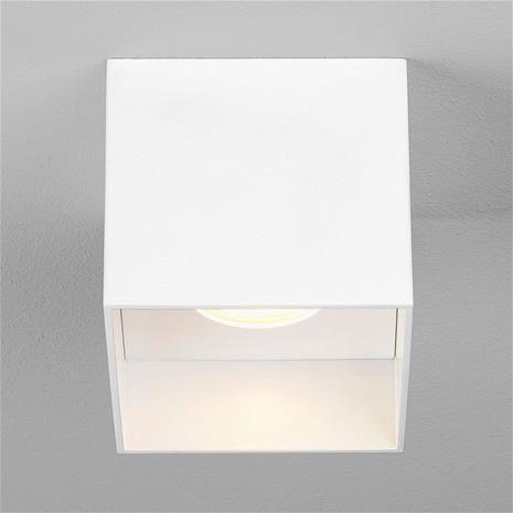 ASTRO Astro Osca Square -LED-kattovalaisin, valkoinen