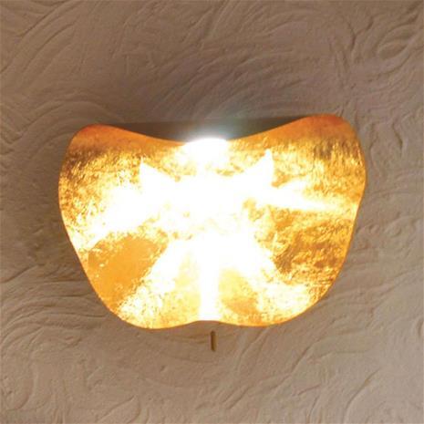 Knikerboker Käsintehty Non So -LED-seinävalaisin 40 cm, kulta