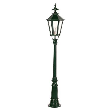 K. S. Verlichting Kaunis Dublin-lyhtypylväs yksilamppuinen musta