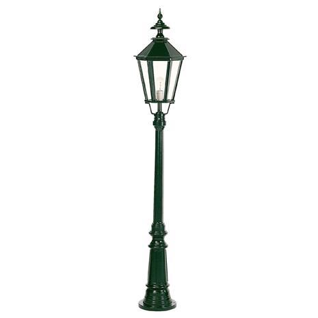 K. S. Verlichting Kaunis Dublin-lyhtypylväs 1-lamppuinen vihreä