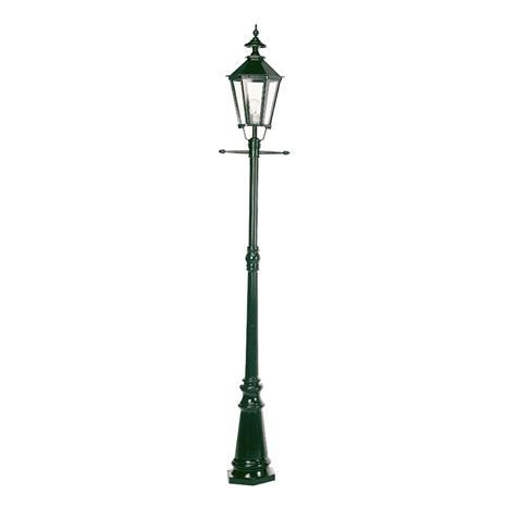 K. S. Verlichting Kaunis Manchester-lyhtypylväs 1-lamppuinen vihreä