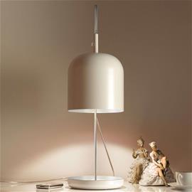 ANTA Moderni LED-pöytävalaisin Puk, valkoinen