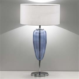 Ailati Pöytälamppu Show Ogiva 82 cm lasielementti sininen
