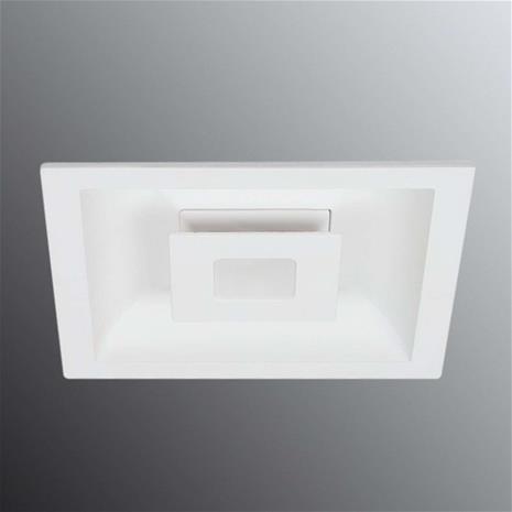 Ailati LED-kattouppovalaisin Eclipse, 2 LEDiä kulmikas