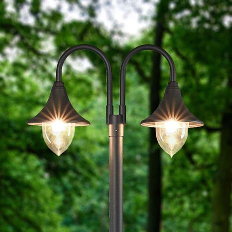 Lampenwelt.com Madea - 2-lamppuinen kynttelikkö