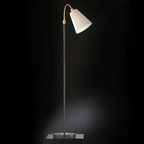 FISCHER & HONSEL Korkeussäädettävä Hopper-lattiavalaisin, 1-osainen