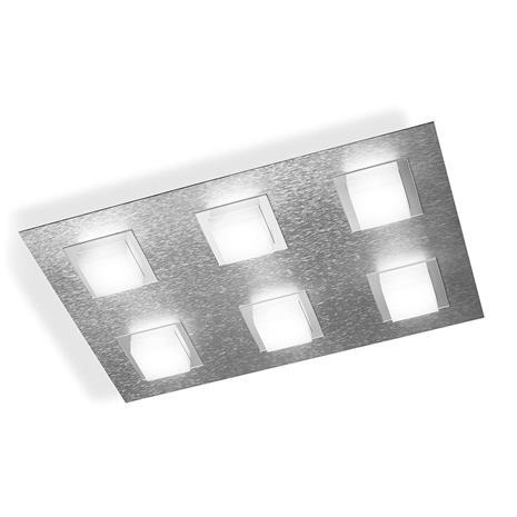 GROSSMANN GROSSMANN Basic LED-kattovalaisin, 6-lampp., alu