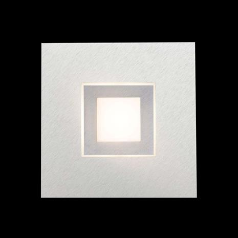 GROSSMANN GROSSMANN Karree LED-seinävalaisin, titaani