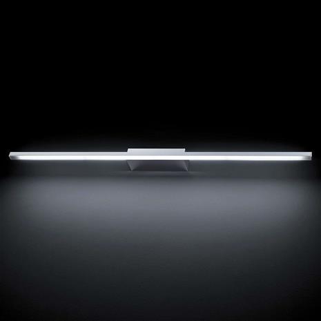 GROSSMANN GROSSMANN Forte LED-seinävalaisin, kromi 93,6 cm