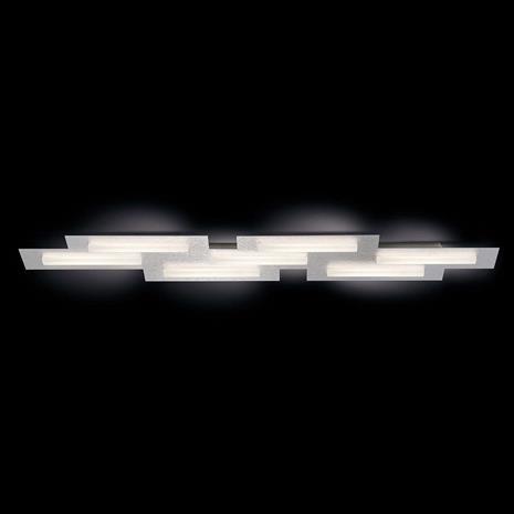 GROSSMANN GROSSMANN Fis LED-kattovalaisin, geometrinen muoto