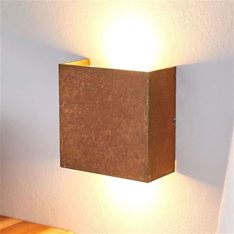 Lucande Ruost. Mira-LED-seinävalaisin – made in Germany