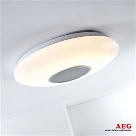 AEG AEG LED -kattovalaisin Bailando – valo ja ääni