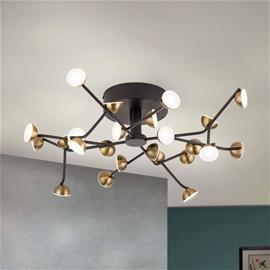 Orion Blossom-LED-kattovalaisin, 24-lamppuinen