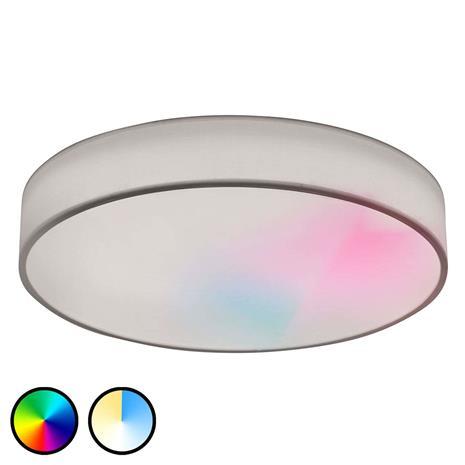 Lucande LED-RGB-kattovalaisin Ajai 3 000–5 000 K WiZ 75 cm