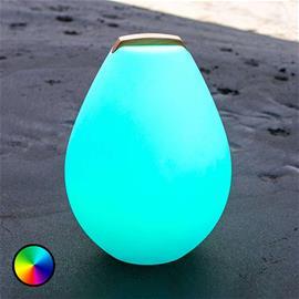 Smart&Green LED-koristevalaisin Vessel 2S, puukahva