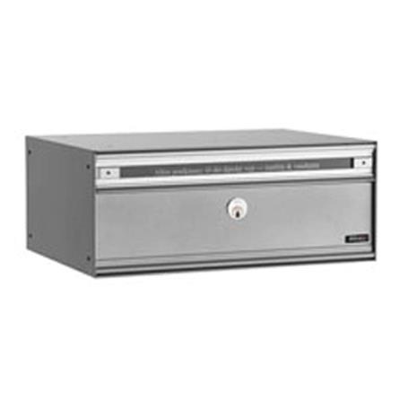 Juliana Korkealaatuinen PC2-postilaatikko, harmaa