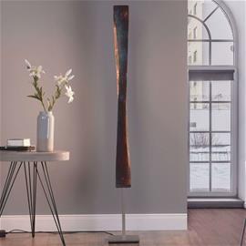 Lucande Lucande Lian LED-lattiavalaisin, oksidoitu kulta