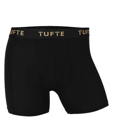 Tufte Wear Golden Patriot Boxer Briefs - Bokserit - Musta - XL