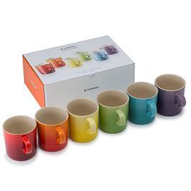 Le Creuset Mug 6-pack, Rainbow