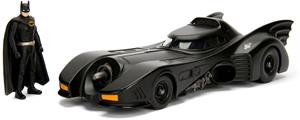 Batman 1989 Batmobile & Figuuri