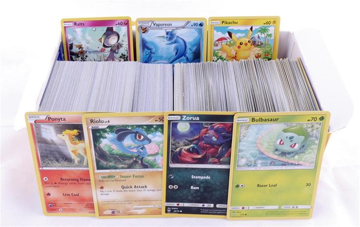 Pokemon Kiloboksi - Kilon Verran Irtokortteja