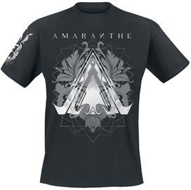 Amaranthe - Black - T-paita - Miehet - Musta