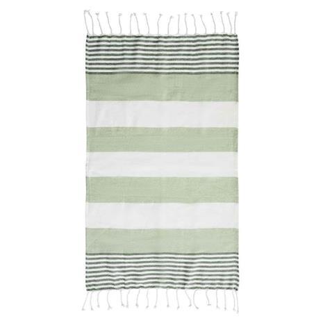 Sagaform Hamam Towel Eco 90x170 cm, Green